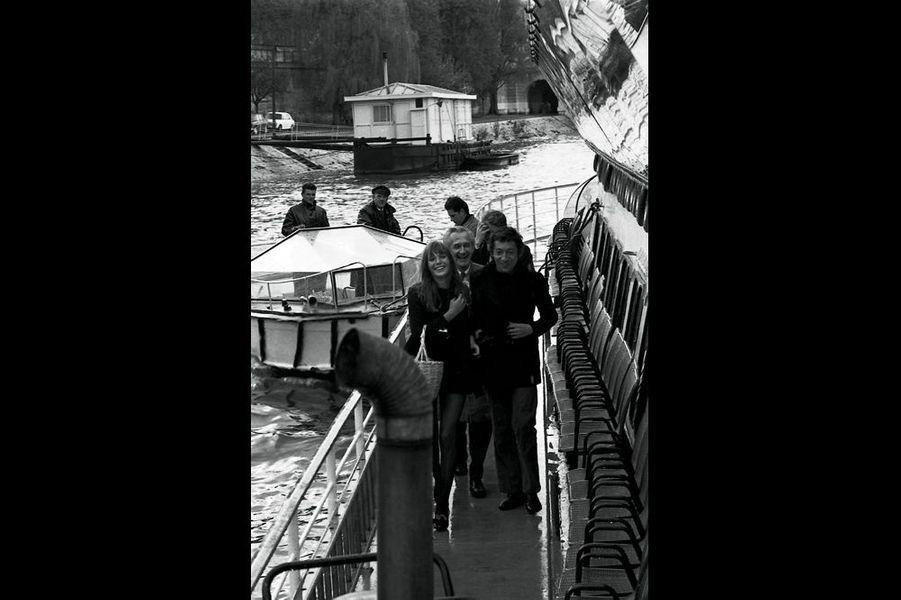 Jane Birkin et Serge Gainsbourg. 1969