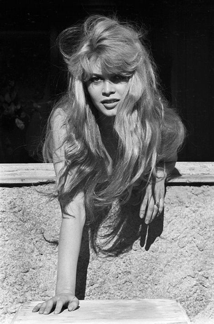 Brigitte Bardot lors du 10e Festival de Cannes, 9 mai 1957