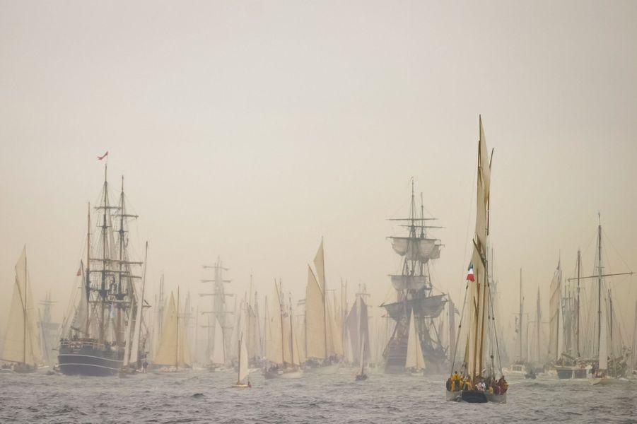 L'armada de Brest, 2004