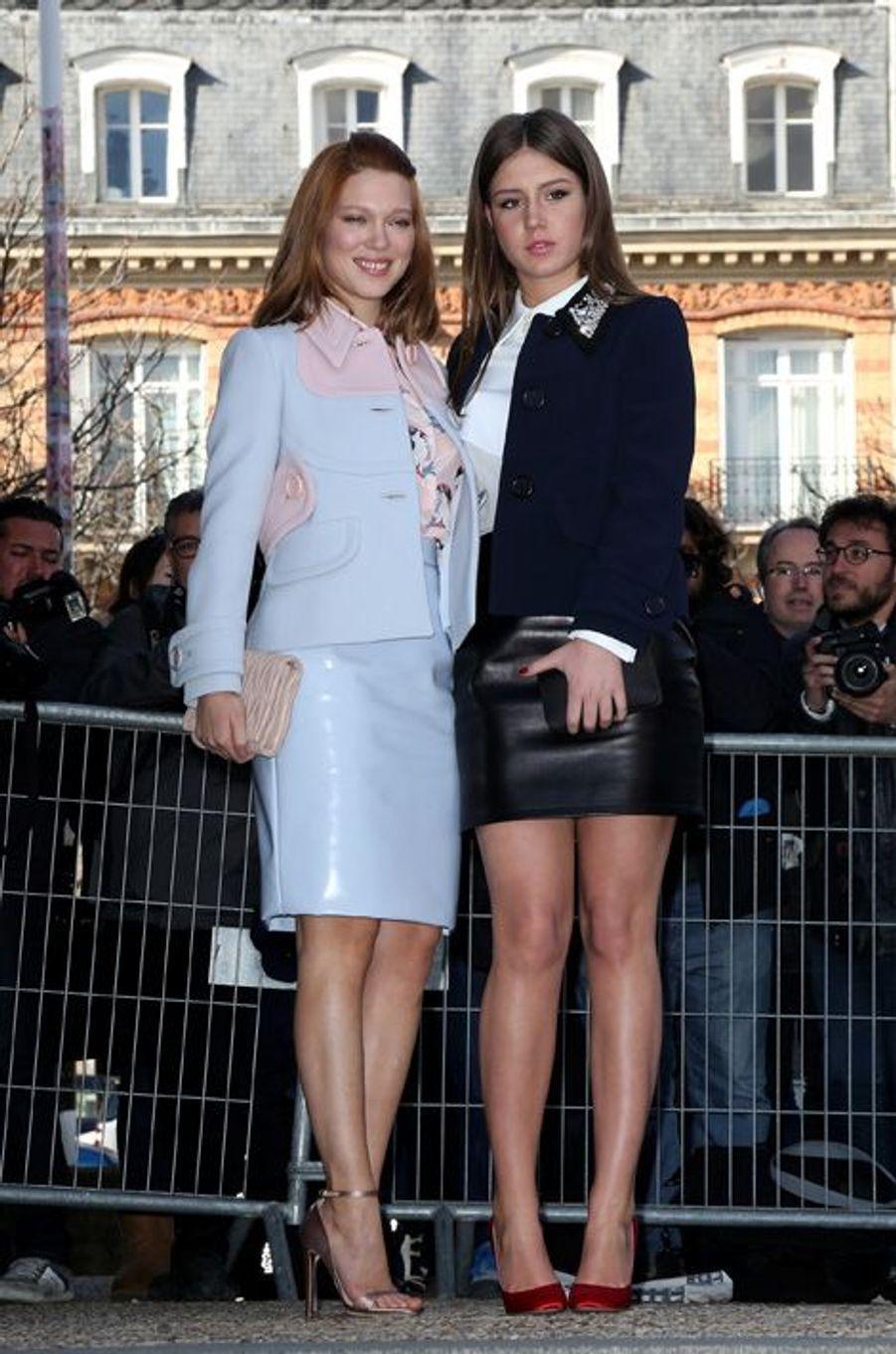 Adele Exarchopoulos et Léa Seydoux