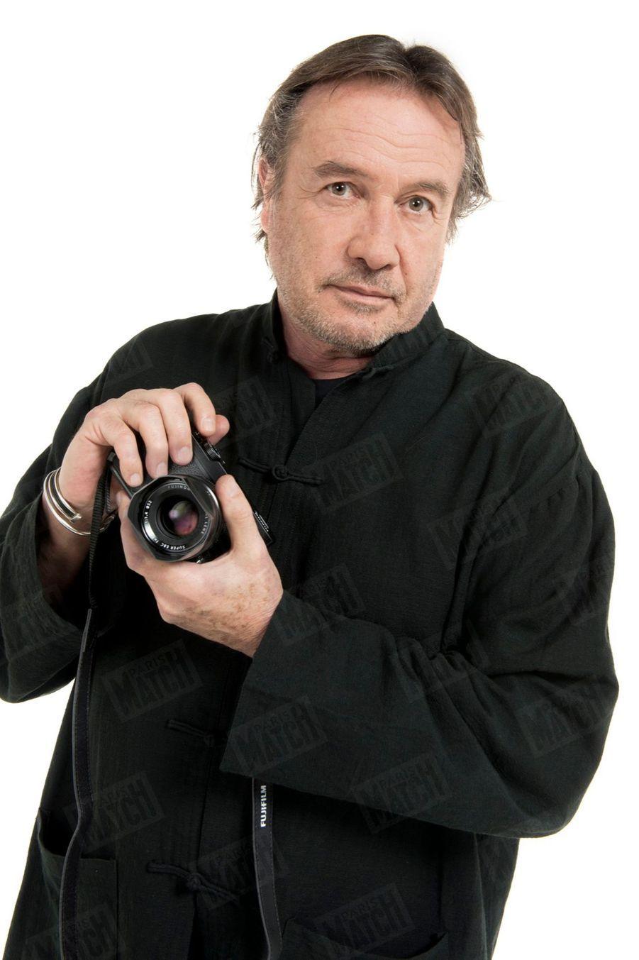 Patrick Bruchet en 2012. Le photographe de Paris Match est décédé à l'âge de 66 ans.