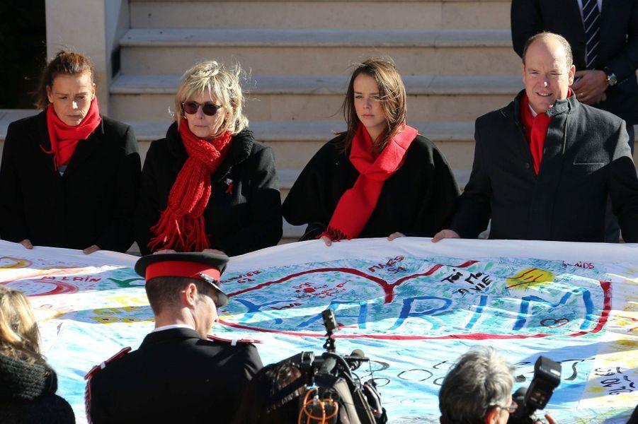 Pauline, Stéphanie et Albert, côte à côte contre le Sida