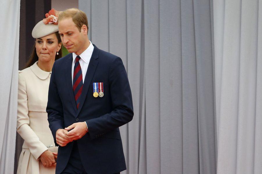 Commémoration royale pour la Grande Guerre