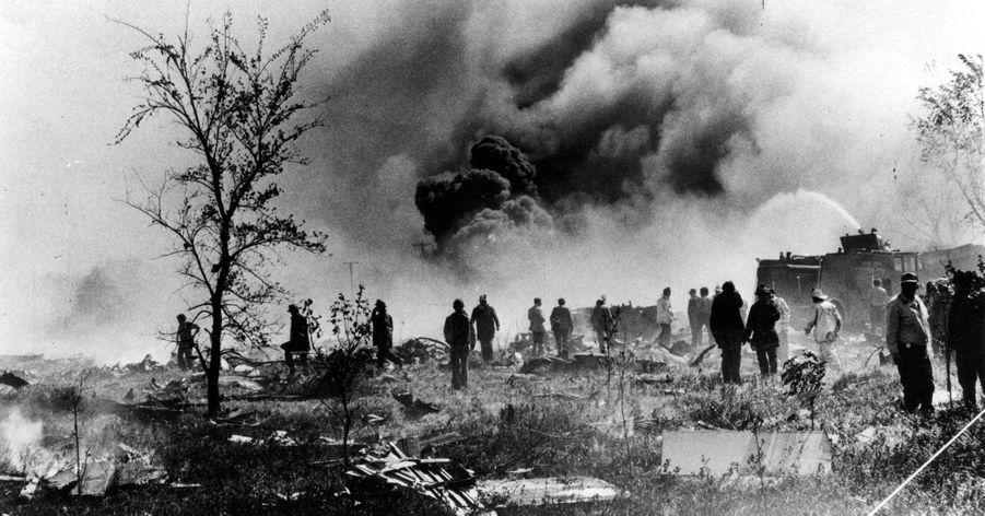 « La force de l'incendie a été telle que le métal de la carlingue a fondu. » - Paris Match n°1567, 8 juin 1979