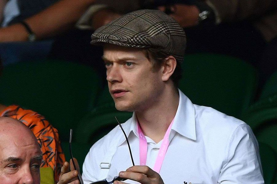 "Alfie Allen (""Game of Thrones"") à Wimbledon"
