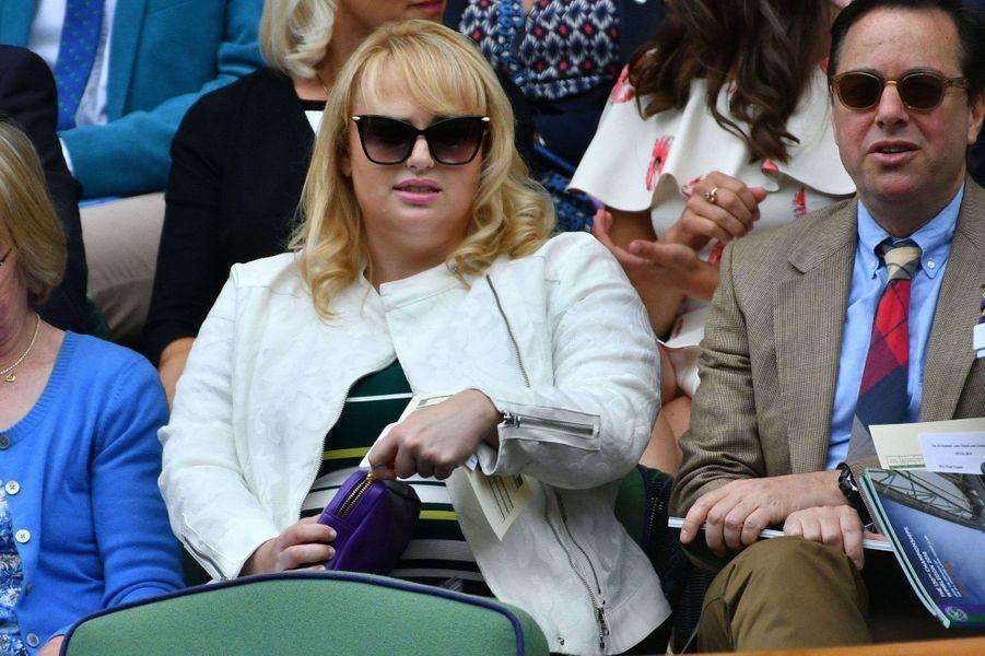 Rebel Wilson à Wimbledon