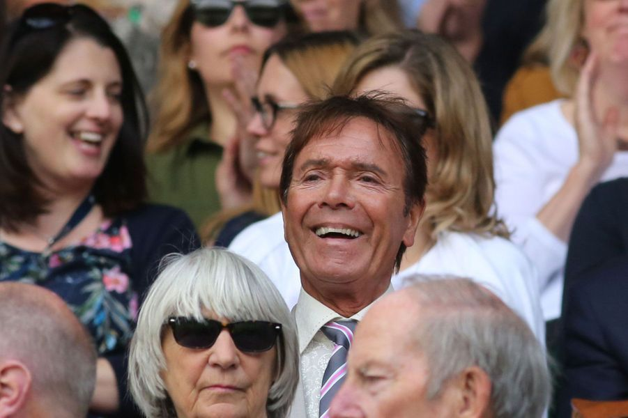 Sir Cliff Richard à Wimbledon