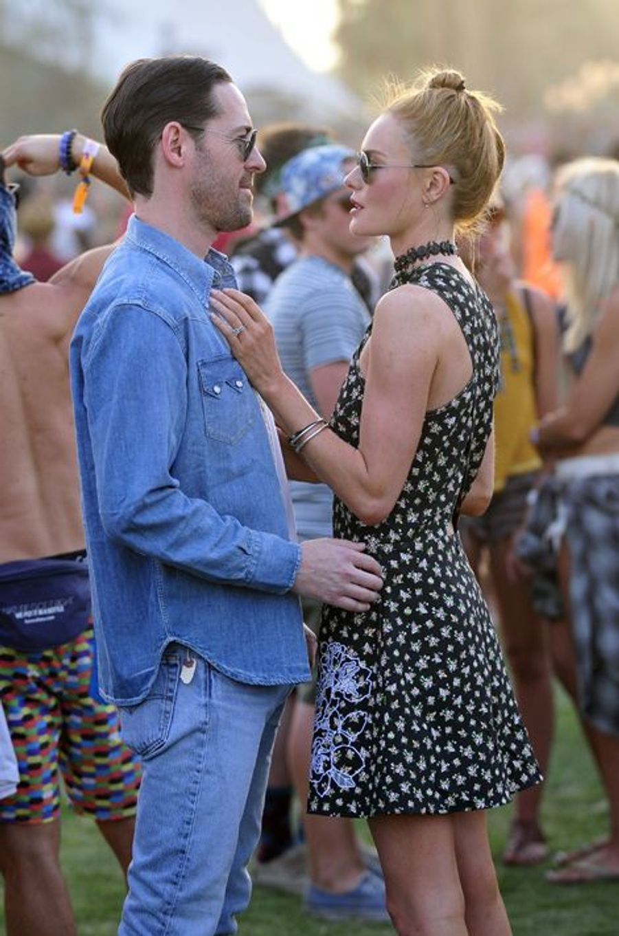 Kate Bosworth et Michael Polish