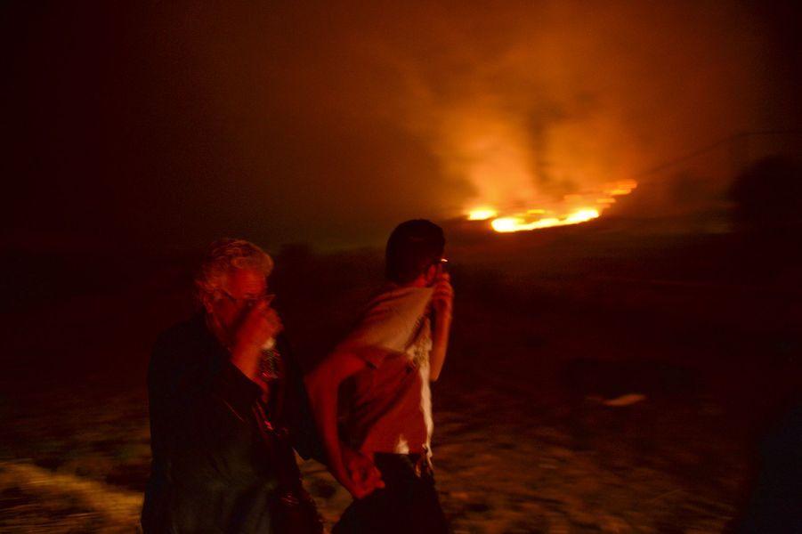 Depuis mercredi, les flammes ravagent les terres d'Algarve, situées au sud du Portugal