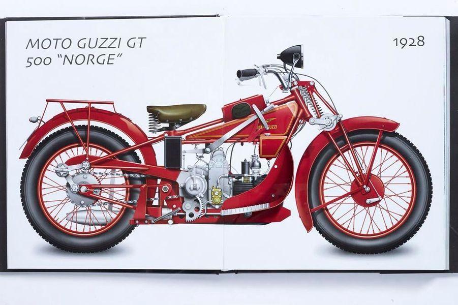 De la première « bécane » de Gottlieb Daimler, en 1884, jusqu'à la dernière Moto Guzzi California 1400 Touring, ce livre d'histoire nous transporte. « Motos de légende. Un siècle de passion », par Luigi Corbetta, éd. Atlas, 29,99 euros.