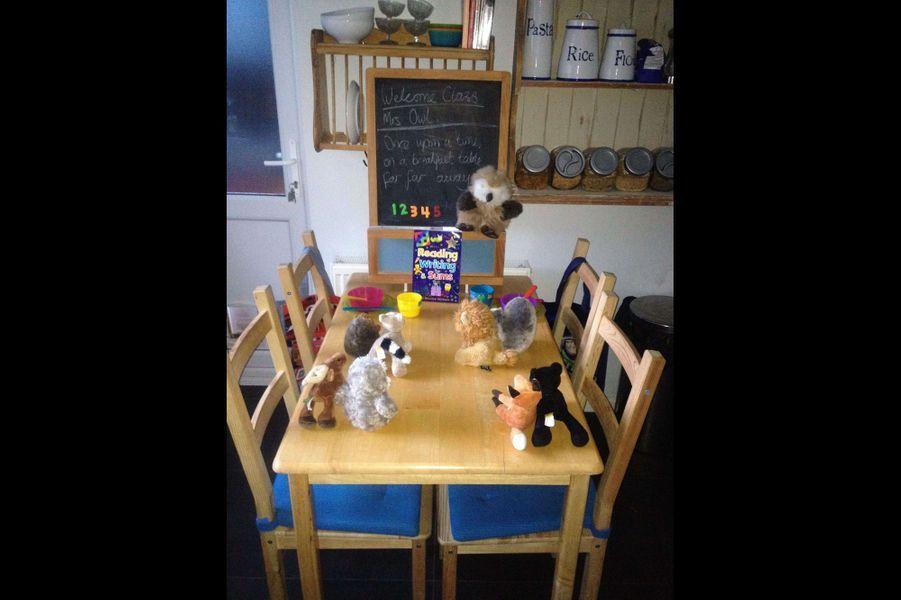 Chez Rob et Sam, les enfants ont des repas hauts en couleurs