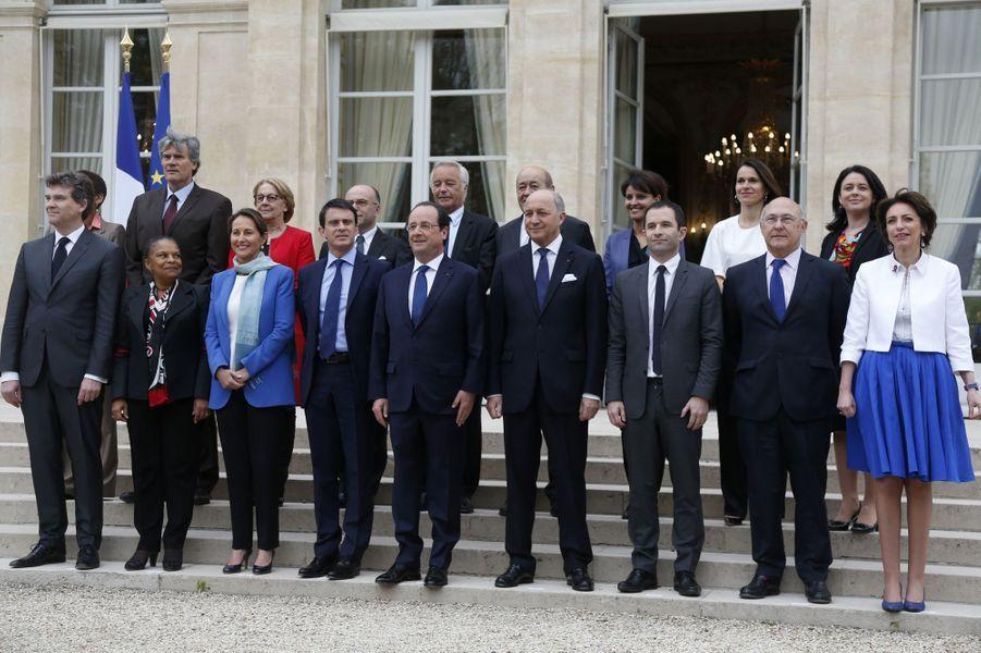 Premier conseil des ministres pour le gouvernement Valls