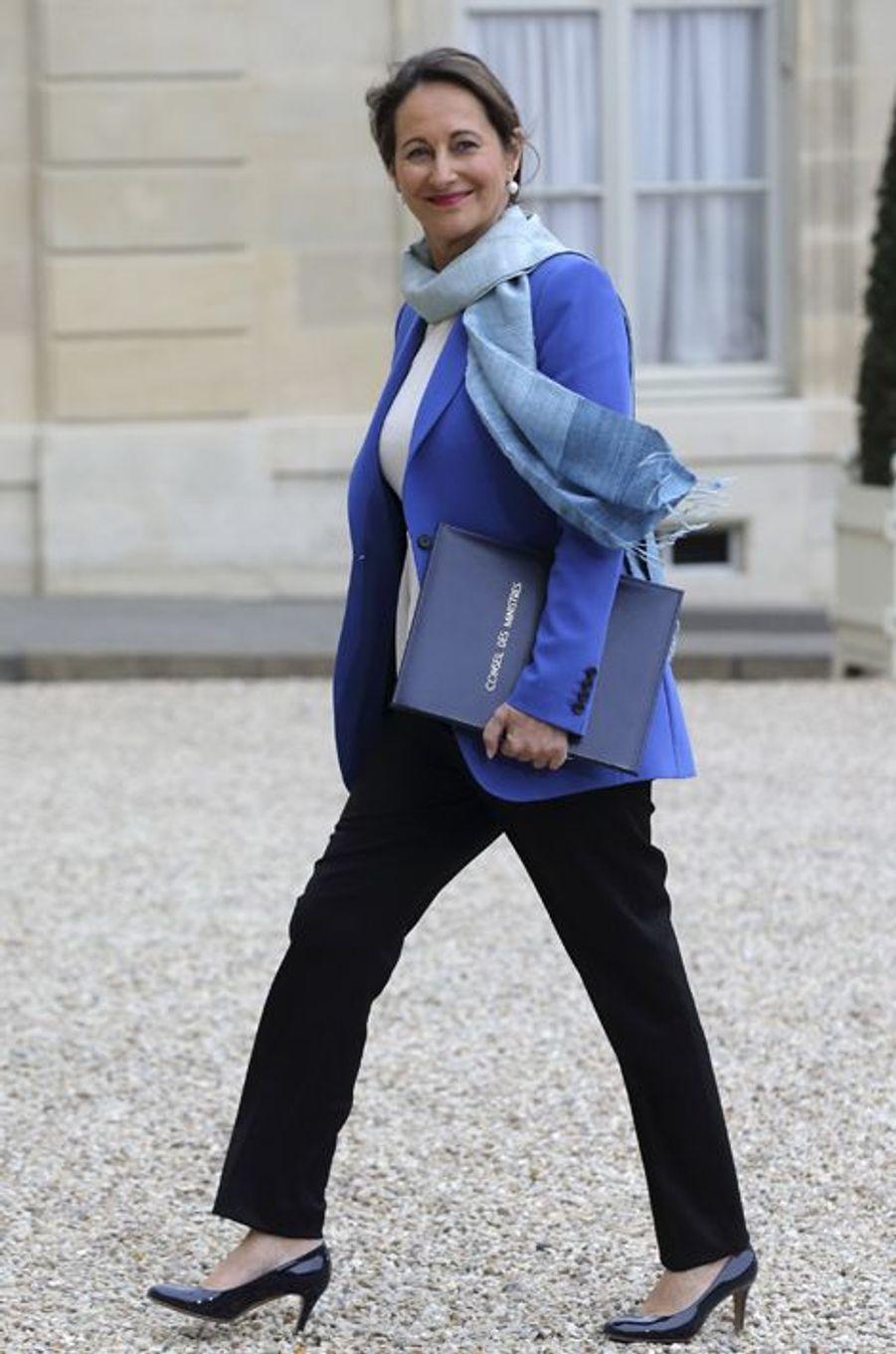 Ségolène Royal, ministre de l'Ecologie et de l'Energie