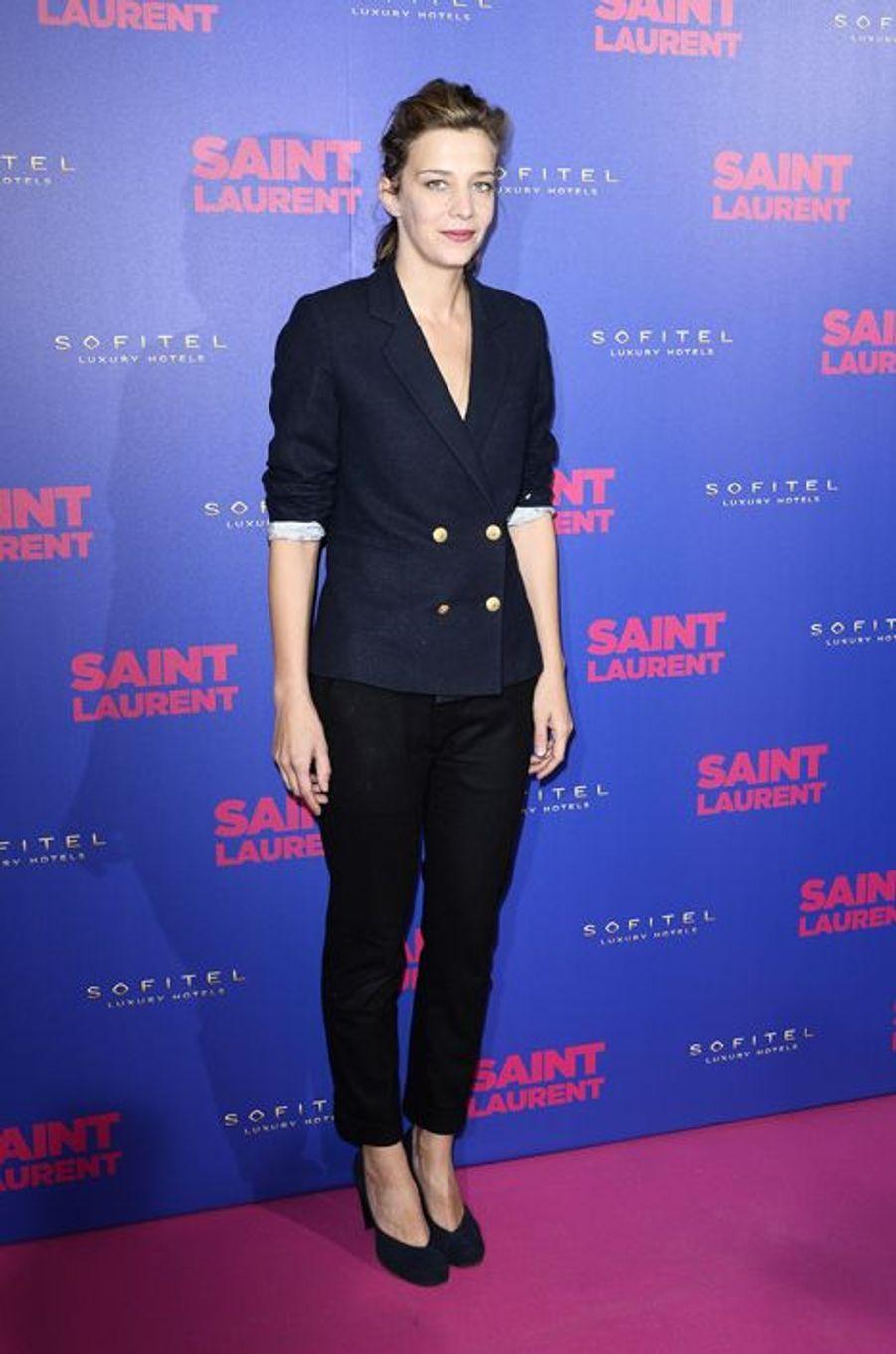 """Céline Sallette à la première de """"Saint Laurent"""" à Paris"""
