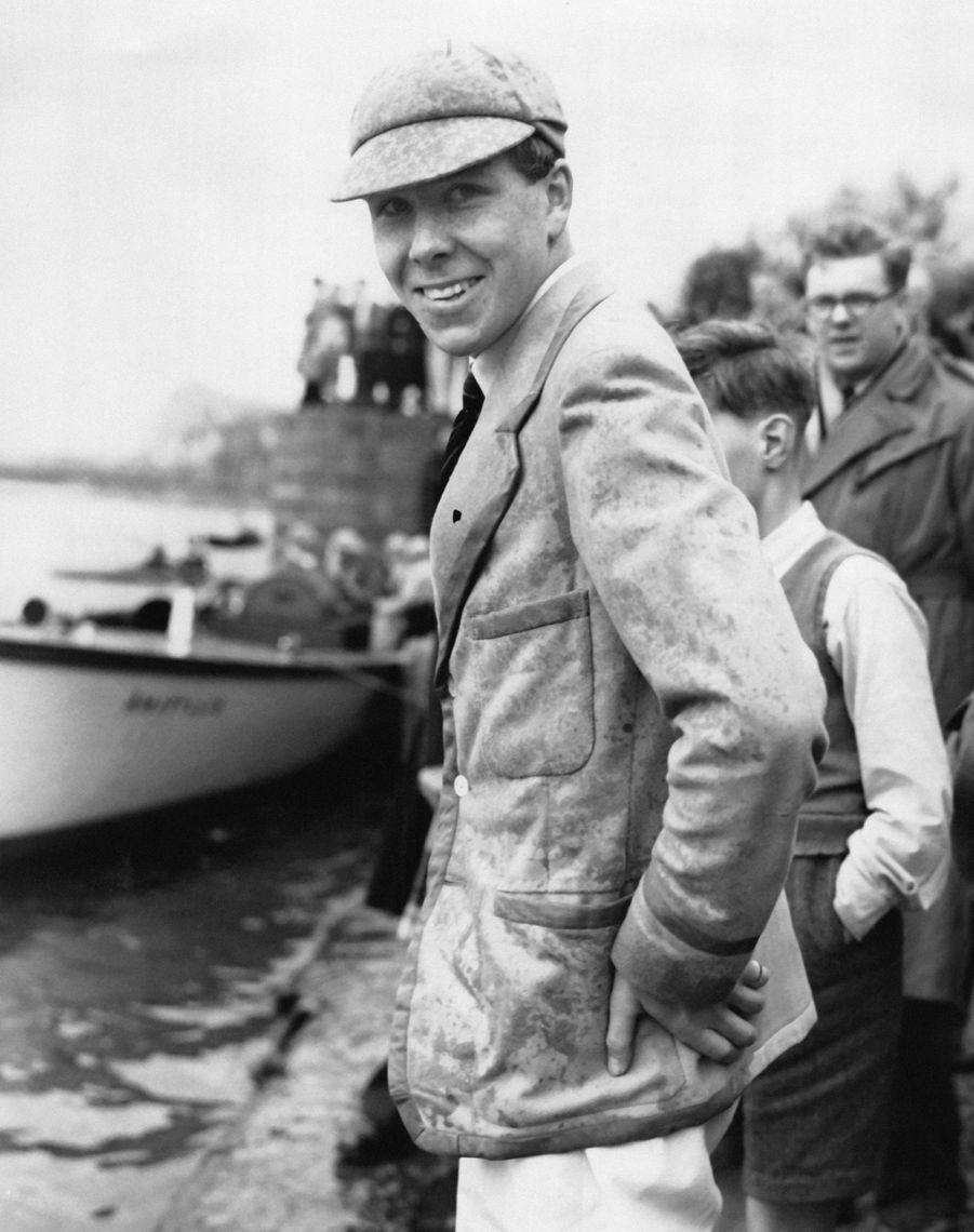 Antony Armstrong Jones à l'Université de Cambridge en 1950.