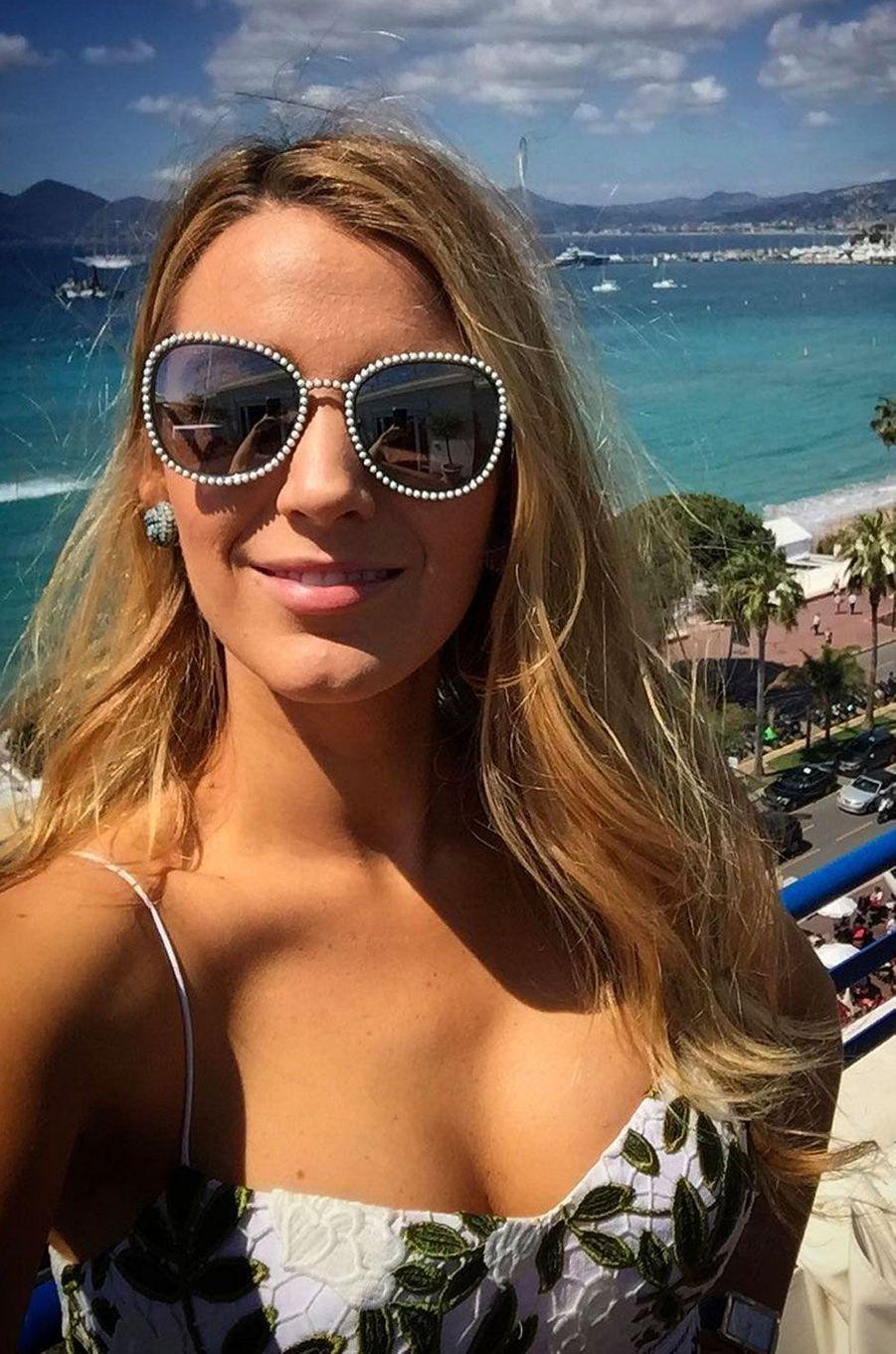 Selfie de Blake Lively sur la Croisette