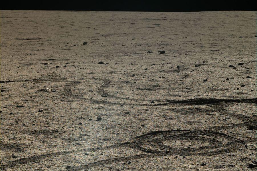 Les cratères de la surface de la Lune