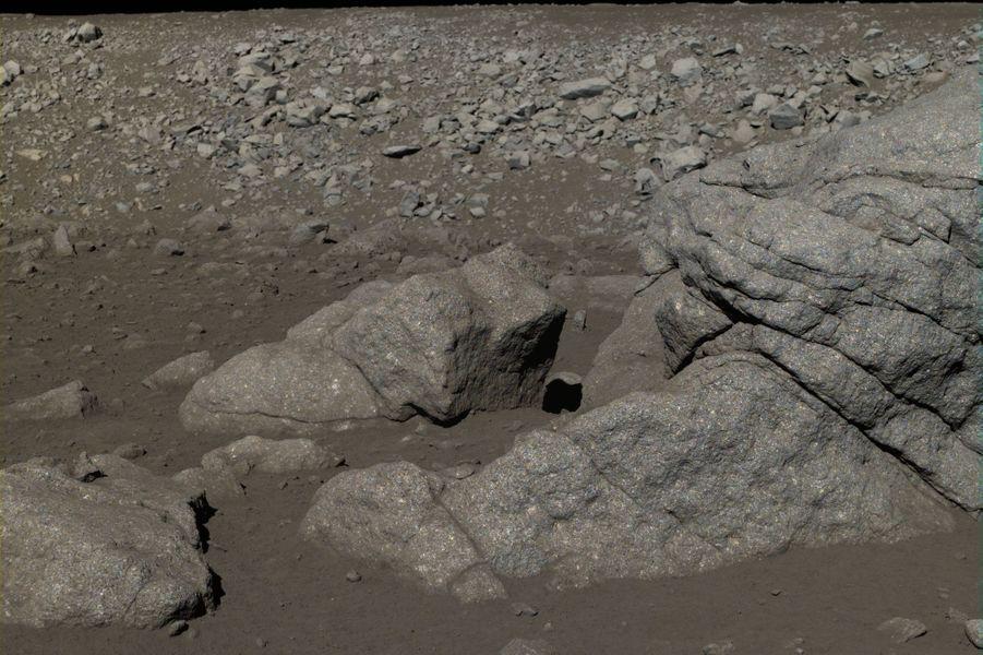 Les roches présentes sur la surface de la Lune