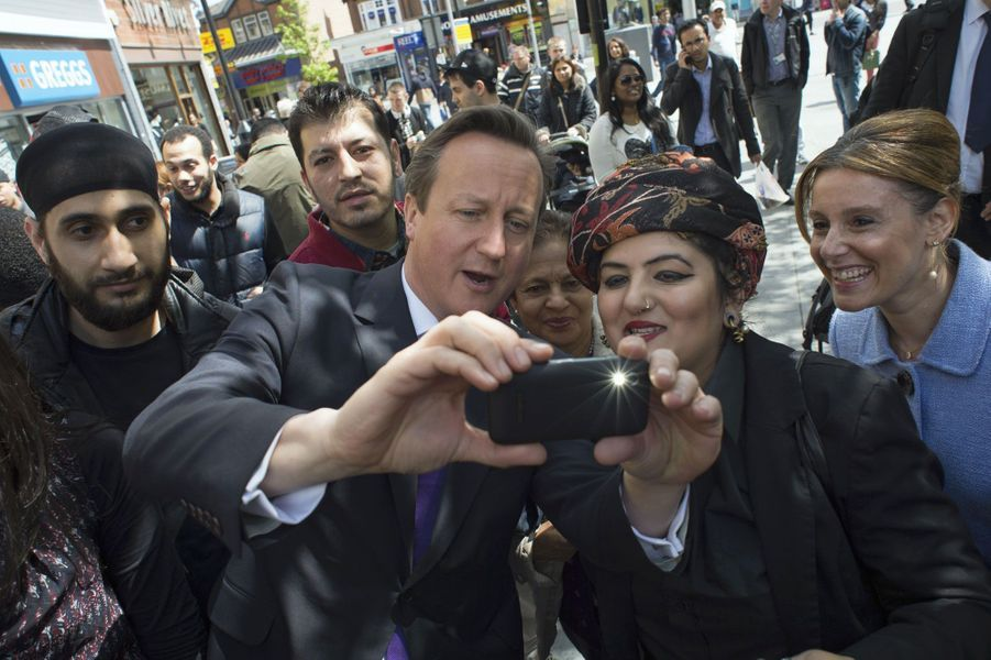 David Cameron à Londres en mai