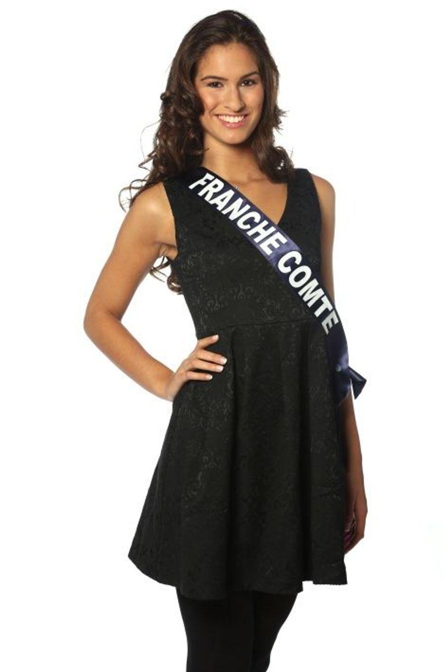 Camille Duban, 19 ans, Miss Franche Comté