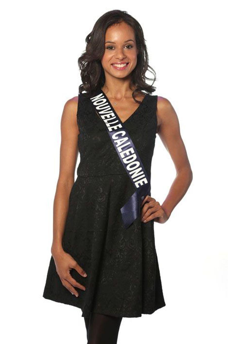 Agnès Latchimy, 23 ans, Miss Nouvelle Calédonie
