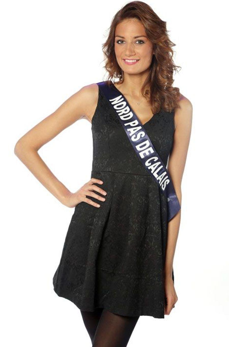Gaëlle Mans, 23 ans, Miss Nord Pas de Calais