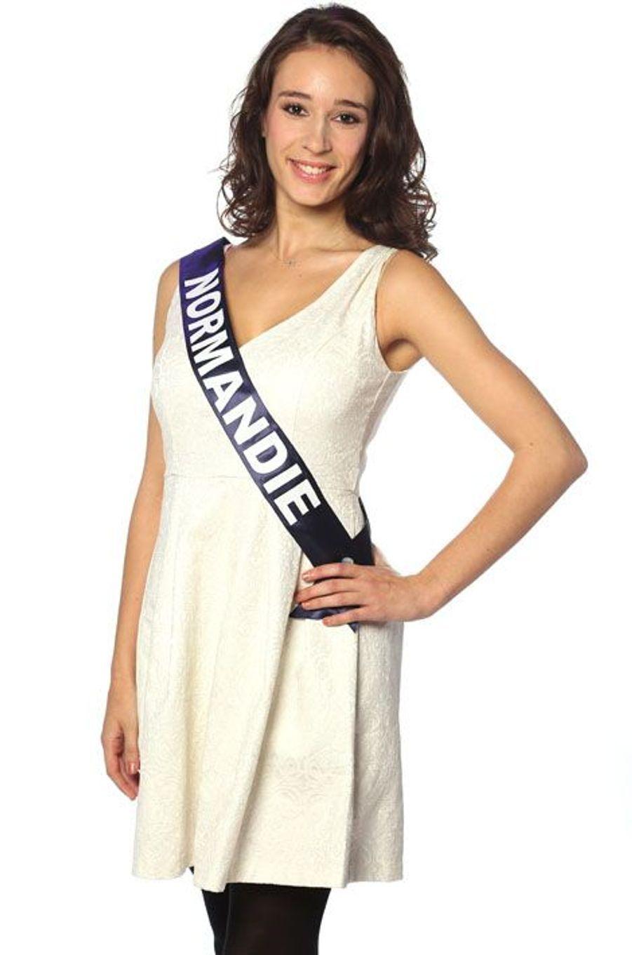 Ophélie Genest, 19 ans, Miss Normandie