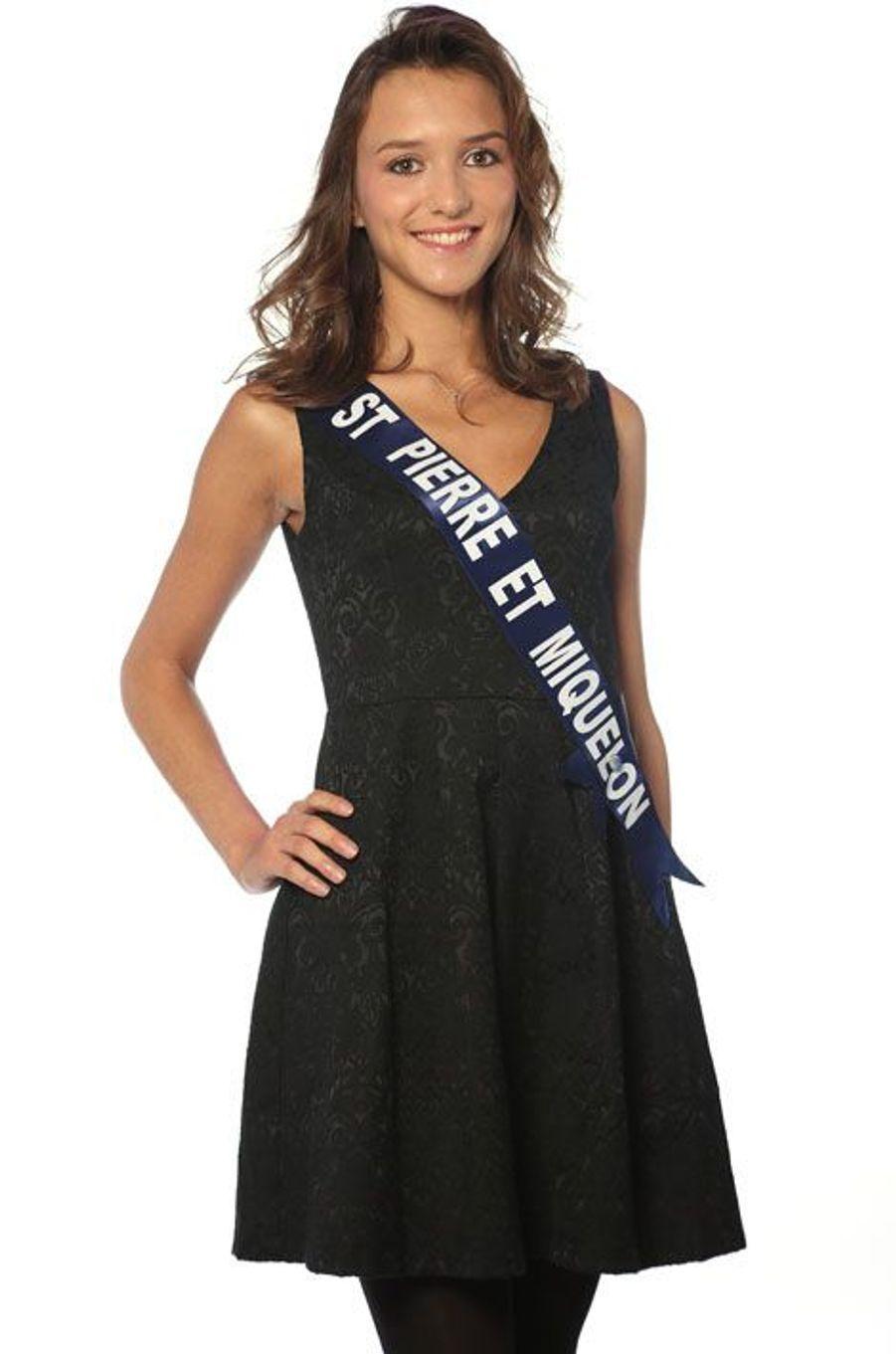Clio Victorri, 23 ans, Miss Saint Pierre et Miquelon