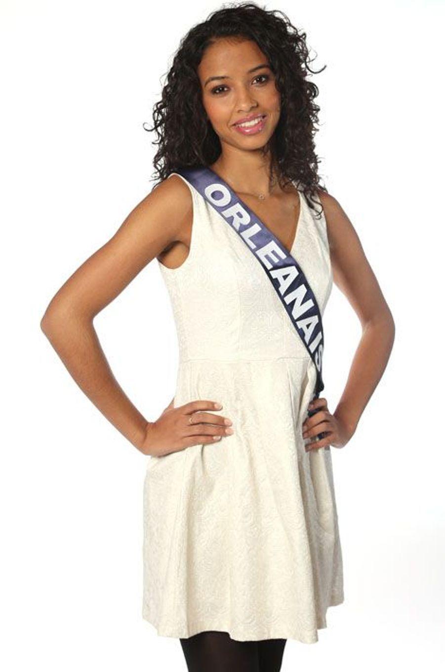Flora Coquerel, 19 ans, Miss Orléanais