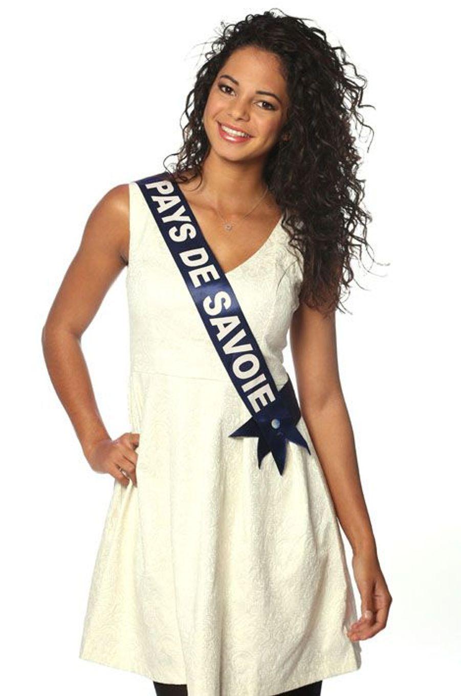 Julie Legros, 22 ans, Miss Pays de Savoie