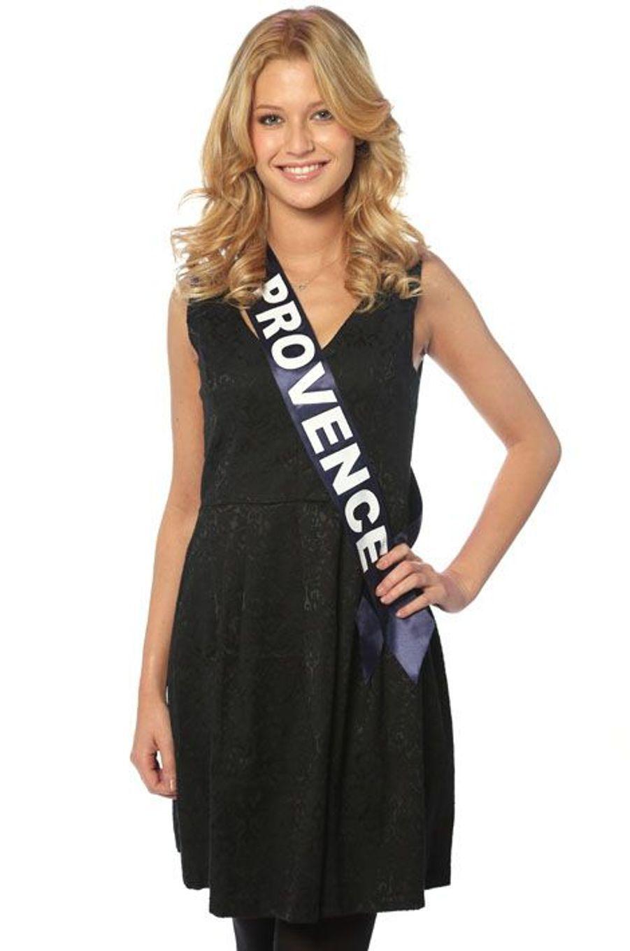 Laëtizia Penmellen, 19 ans, Miss Provence