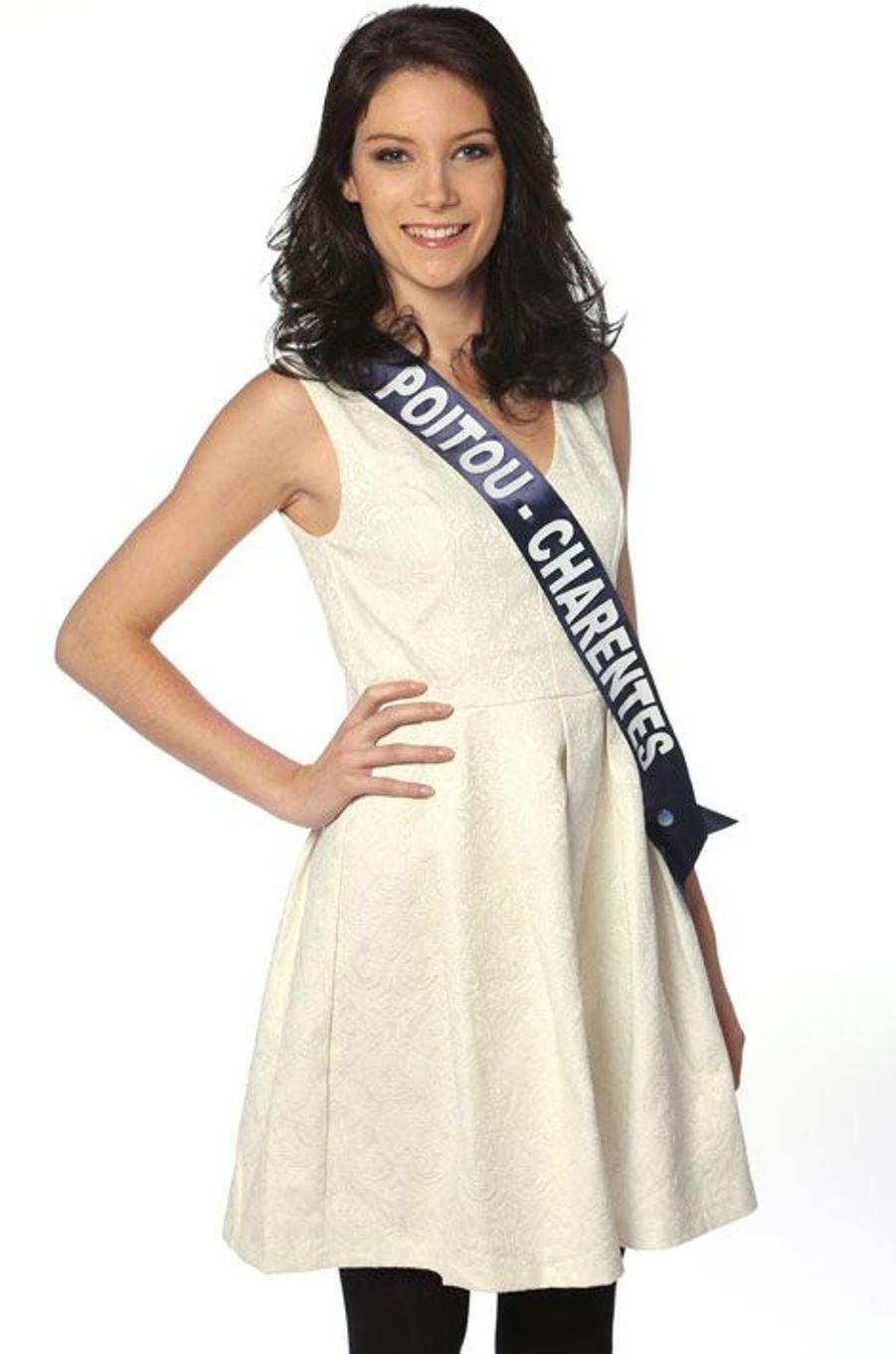 Laura Pierre, 20 ans, Miss Poitou-Charentes