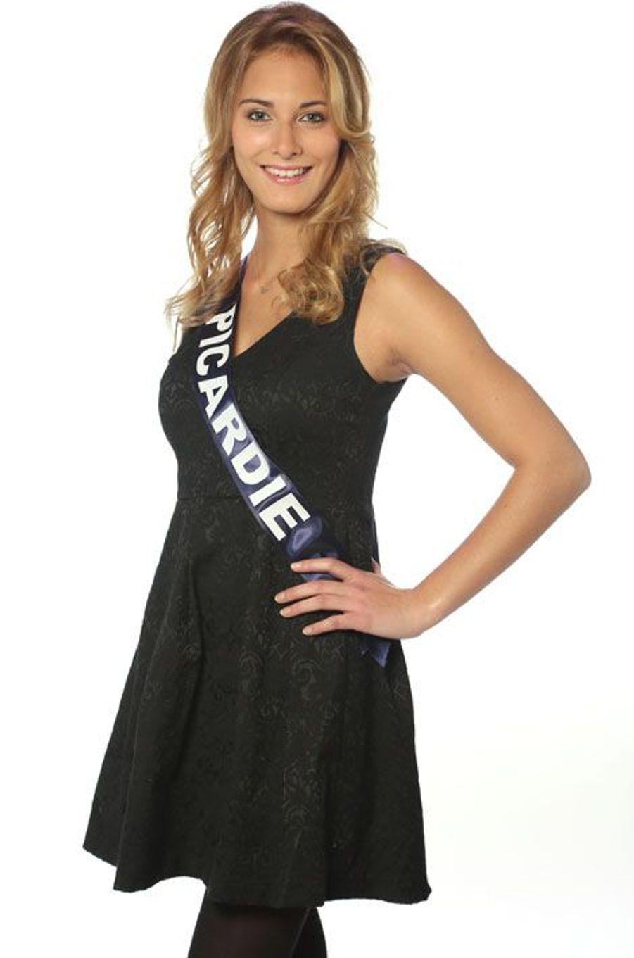 Manon Beurey ,19 ans, Miss Picardie