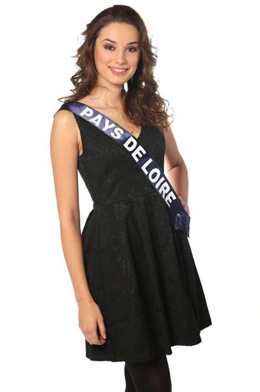 Marie Plessis, 22 ans, Miss Pays de Loire
