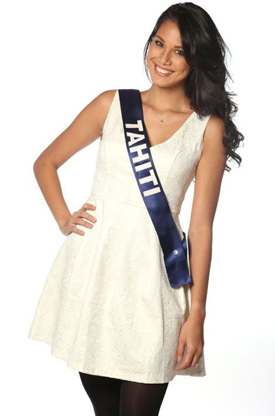 Mehiata Riaria, 22 ans, Miss Tahiti