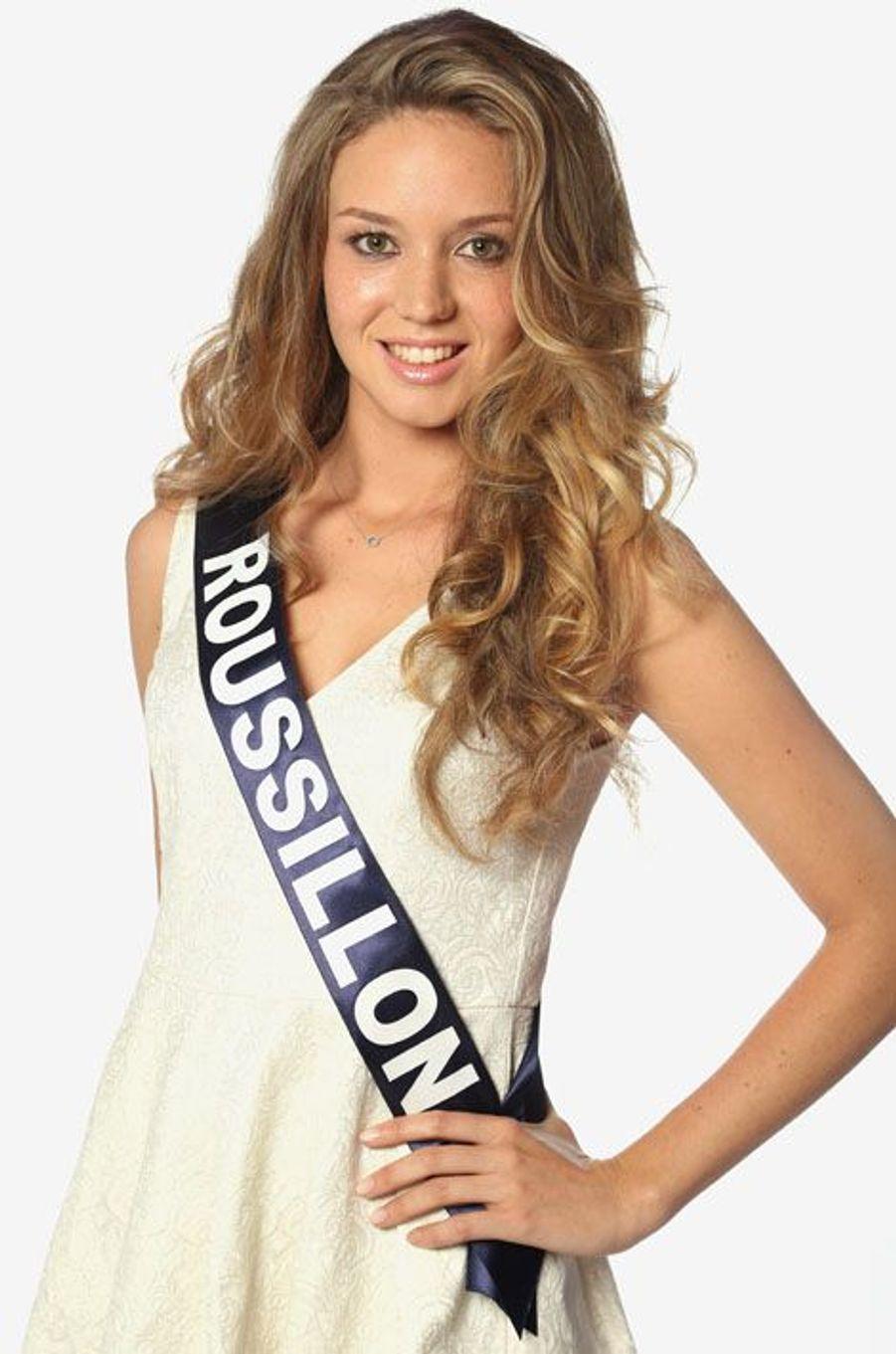 Sabine Banet, 21 ans, Miss Roussillon