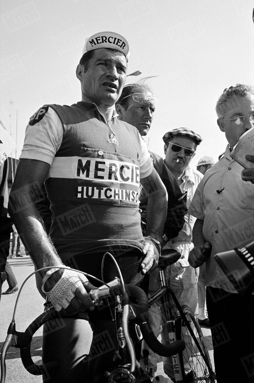 Raymond Poulidor, lors du 54e Tour de France, en juillet 1967.