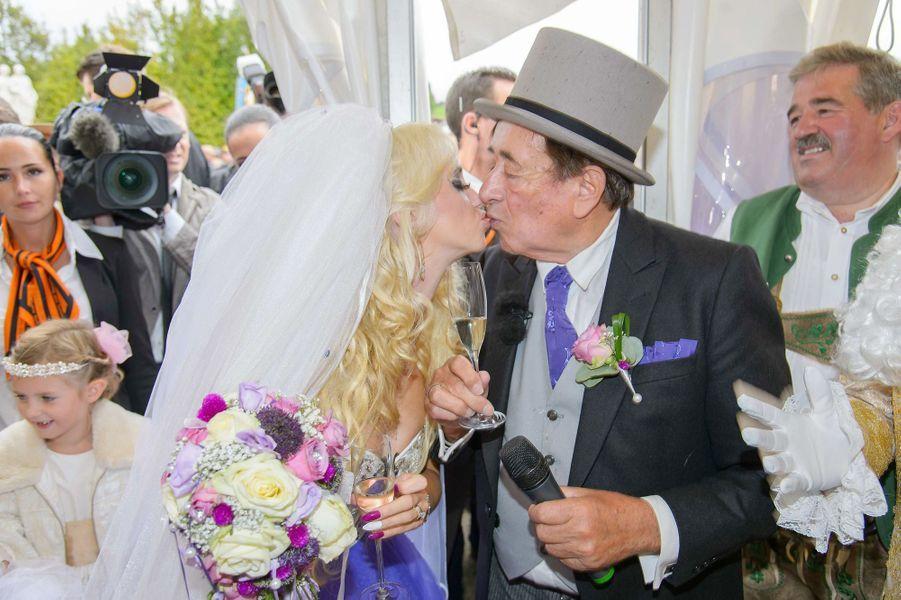 Le mariage de Richard Lugner