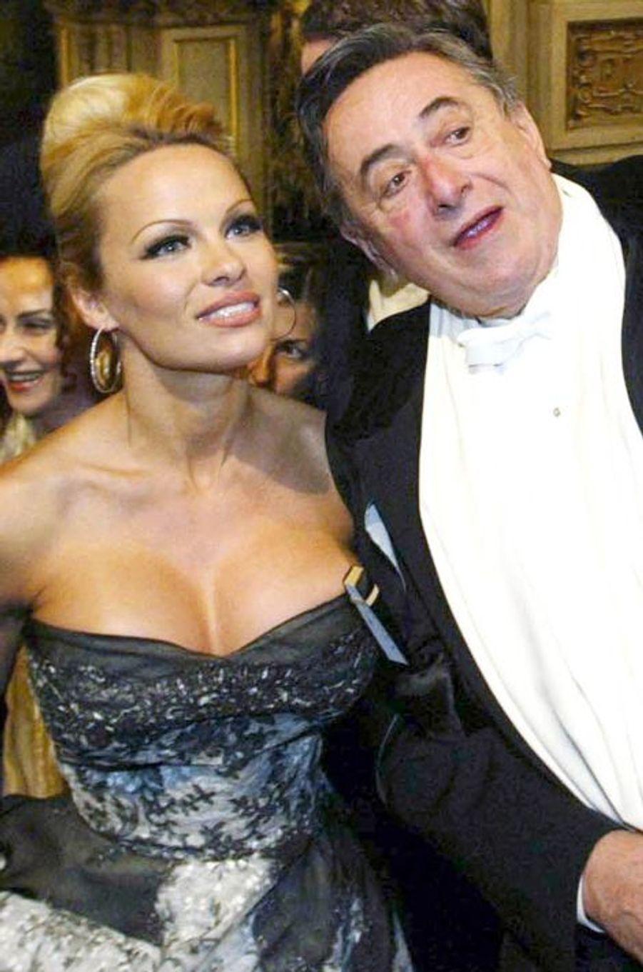 Pamela Anderson et Richard Lugner, en février 2003