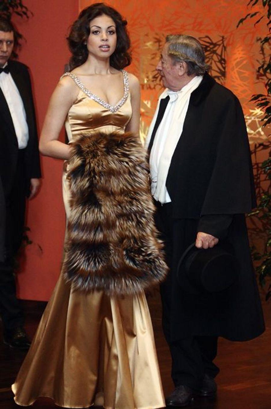 Richard Lugner et Karima el-Mahroug, en février 2011