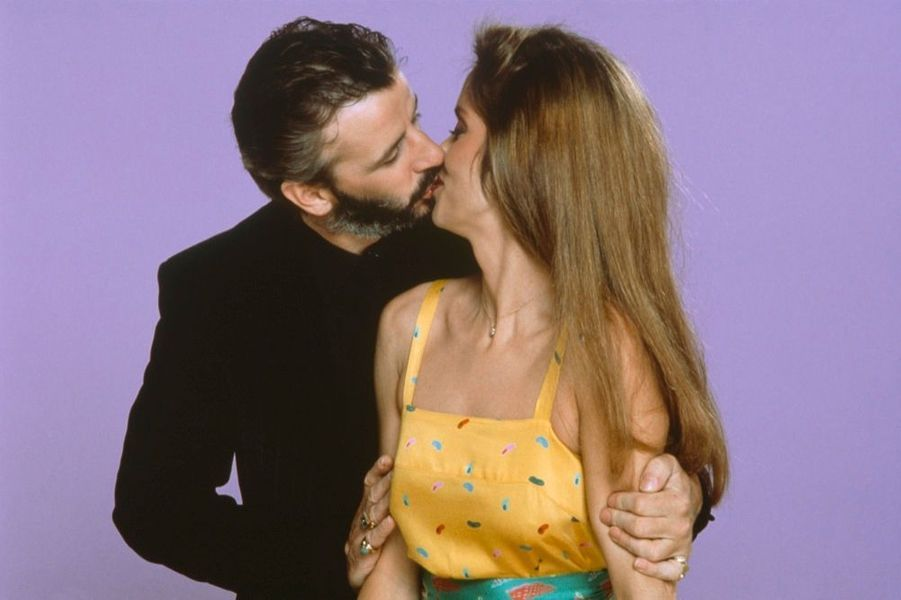 Ringo Starr et Barbara Bach, en 1981.