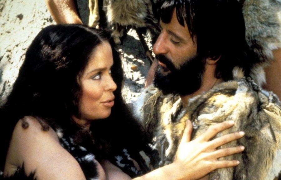 Barbara Bach etRingo Starr dans« L'homme des cavernes », sur le tournage duquel le couple s'est rencontré en 1980.