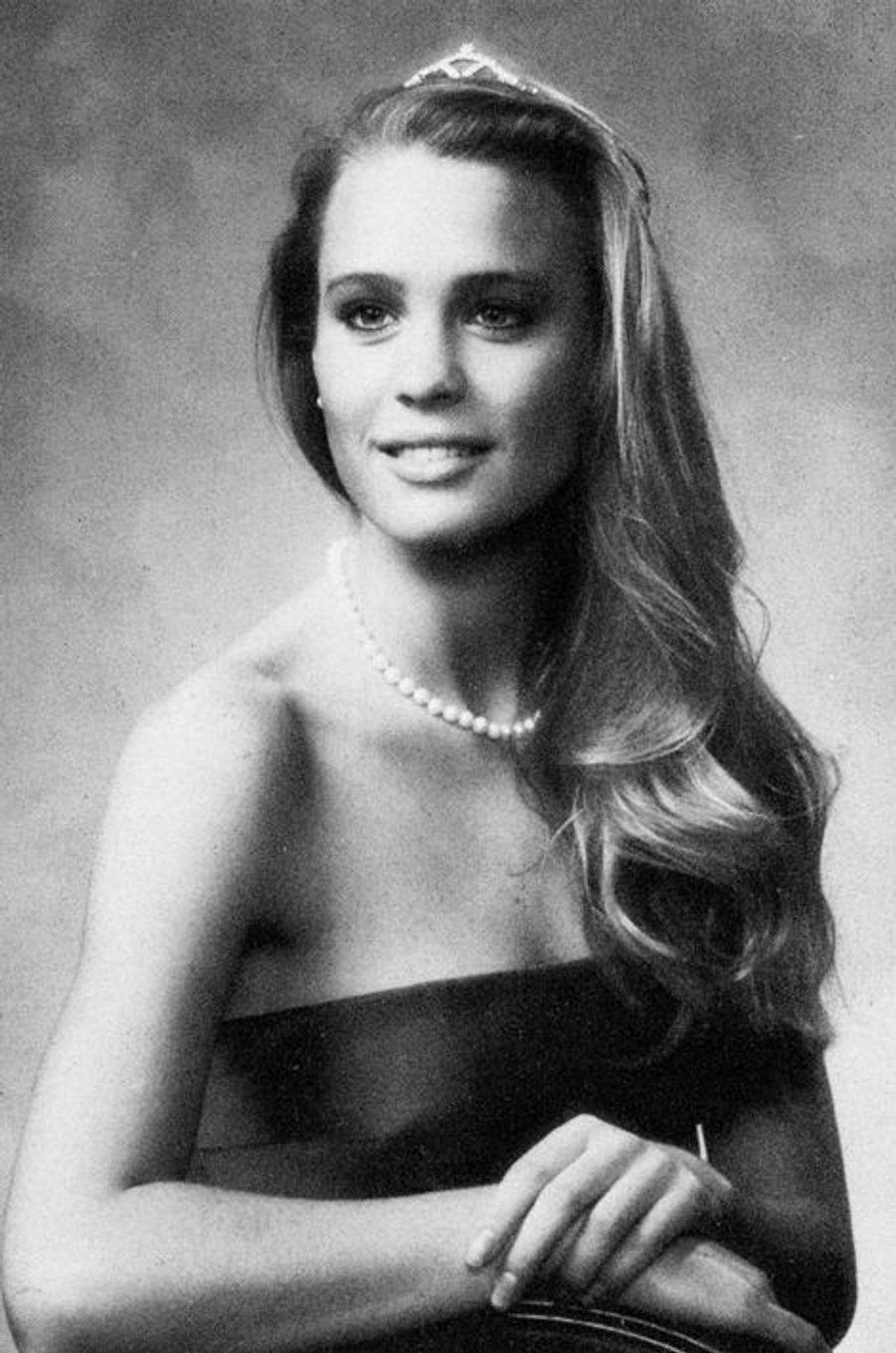 Robin Wright au collège de la Jolla, Californie en 1981