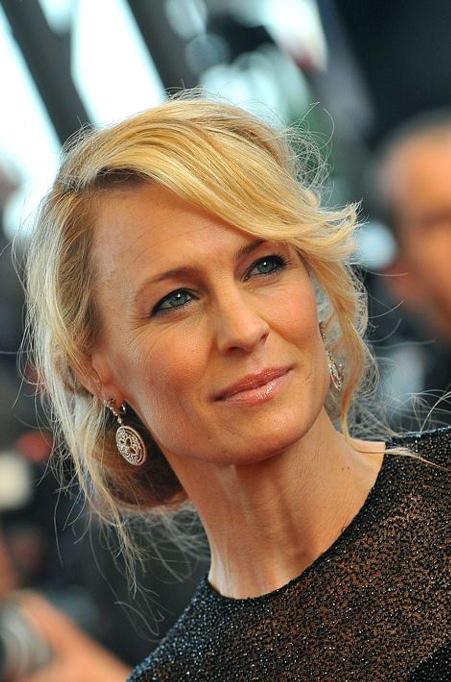 Robin Wright au festival de Cannes en 2009
