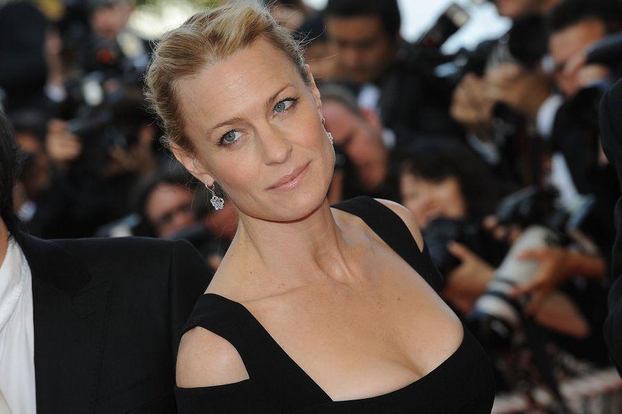 Robin Wright au festival de Cannes en mai 2009