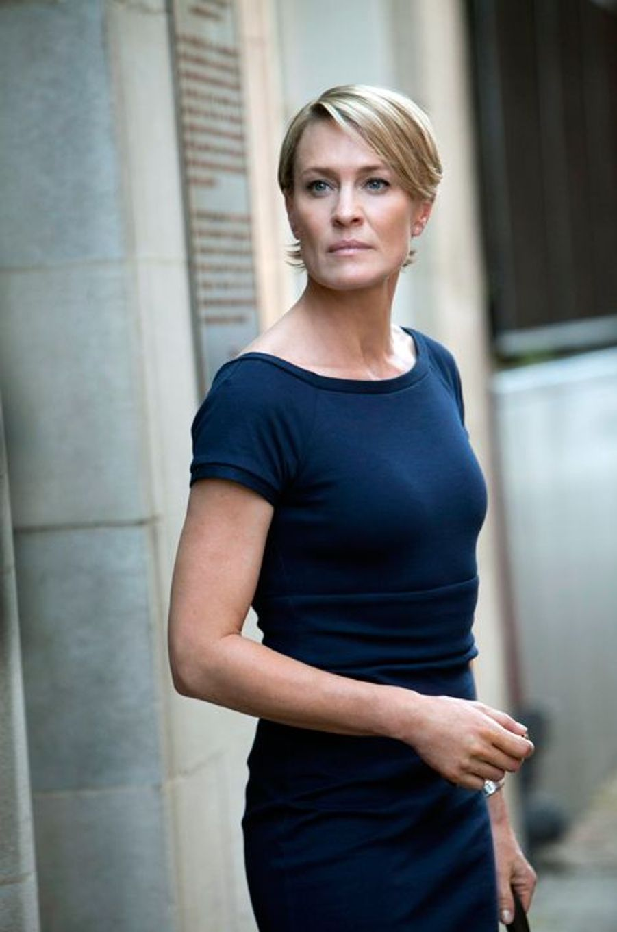 "Robin Wright dans ""House of Cards"" en 2012"