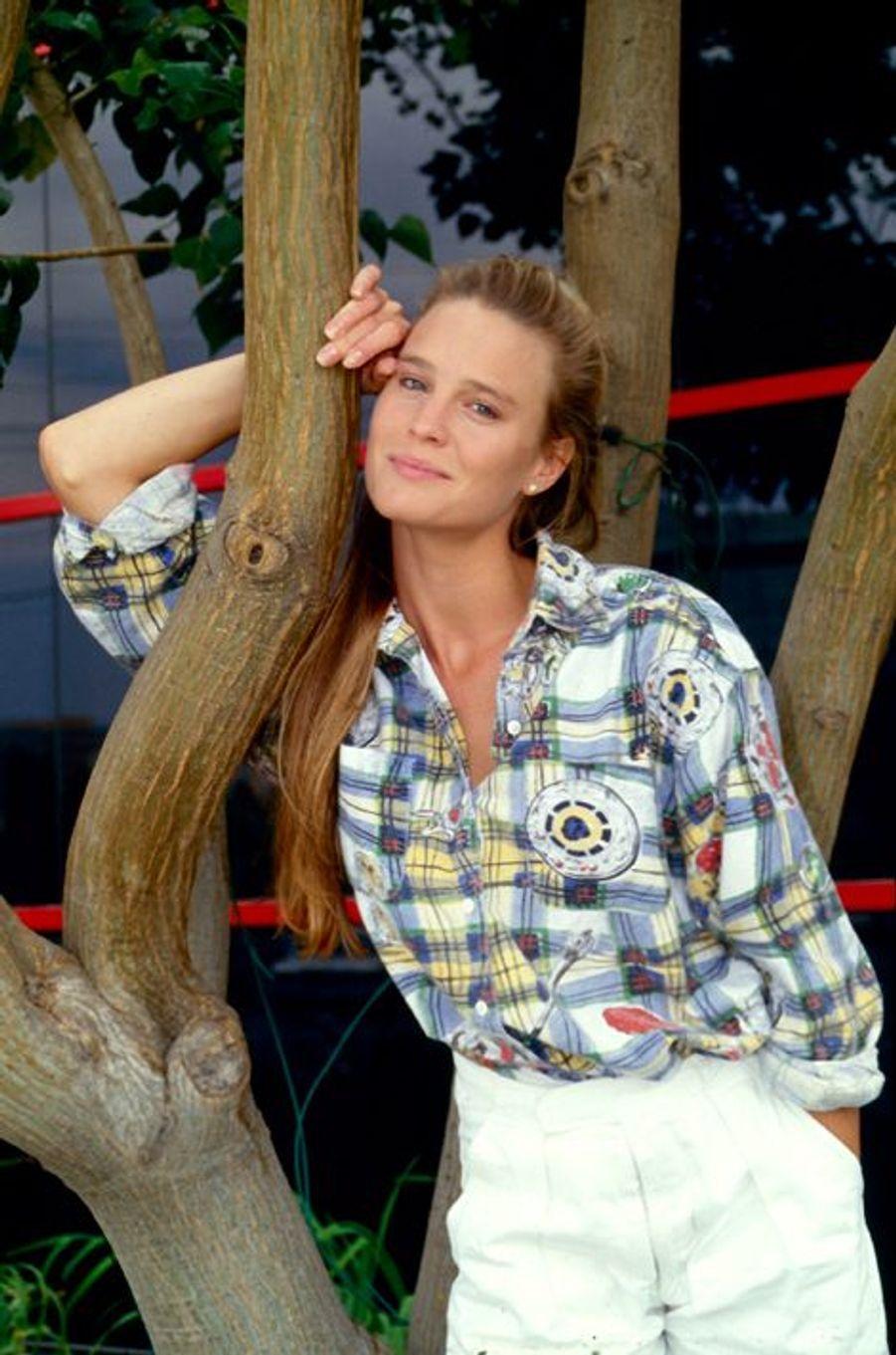 Robin Wright, héroine de la série Santa Barbara