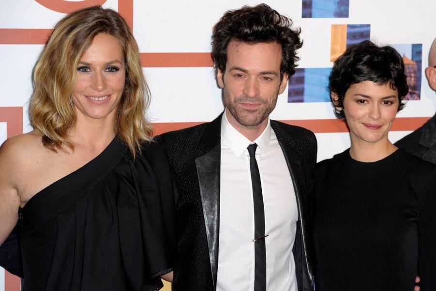 Cécile de France, Romain Duris et Audrey Tautou