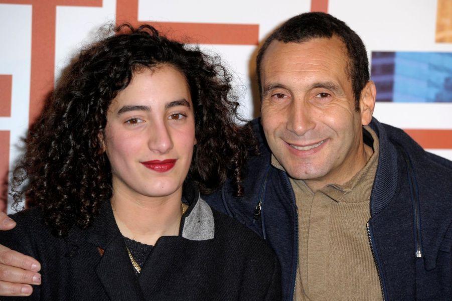 Zinedine Soualem et sa fille Mouna