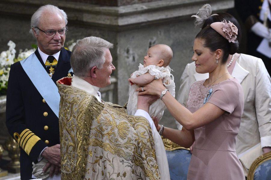Le baptême d'Estelle, le 22 mai 2012
